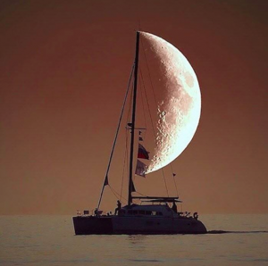 Sailboat Moon