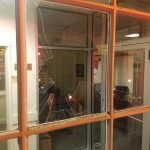 Intoxicated bar patron ends up at shock-trauma after breaking bank's window