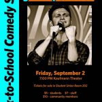 Comedy at AACC with SNL's Jon Rudnitsky