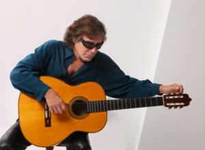 Jose Feliciano performing at Maryland Hall Saturday night