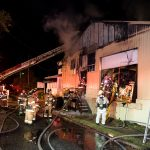 2-Alarm fire damages Eastport business