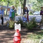 Annapolis Roads residents plant a garden with Unity Gardens grant