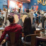 Fun nights at Muse Paintbar