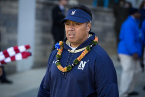 Niumatalolo names AAC Coach of the Year for second year