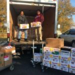 AACC employees put dent in Food Link's Thanksgiving food drive