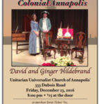 December 23rd concert, The Music of Colonial Annapolis