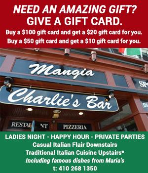 """Mangia-Charlie's"