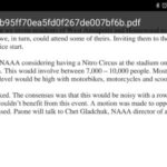 Mayor Pantelides weighs in on Pastrana's Nitro Circus, plans to talk to neighbors along with Pastrana