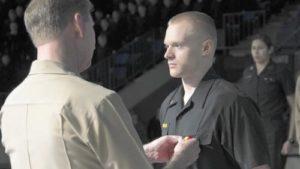 Midshipman 3rd Class Jonathan Dennler