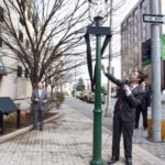 BGE re-dedicates country's first gas street lamp