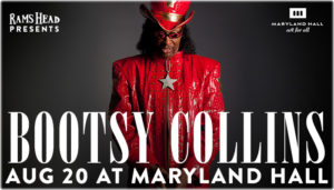 Bootsy Collins MDHall