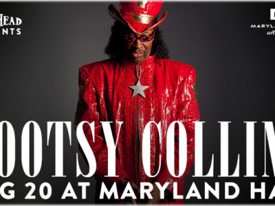 Bootsy Collins at Maryland Hall
