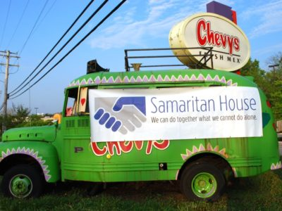 Burritos for breakfast?  Yes, it's the 4th Annual Burritos for Beds at Chevy's