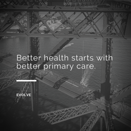 Better Health Starts With Better Primary Care. Evolve Medical Clinics, the first Direct Primary Care in Maryland, is the highest rated Primary Care and Urgent Care and serves Annapolis, Edgewater Davidsonville, Crownsville, Millersville, Gambrills, Crofton, Arnold, Severna Park, Pasadena, Glen Burnie and Stevensville.
