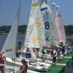 Sailing camp for youth with learning differences in June and July