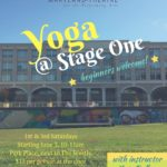 Yoga classes at Maryland Theatre for Performing Arts' Stage One