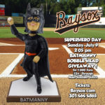 BatManny bobblehead to help Baysox defend  against the Flying Squirrels
