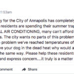 Ward 6 Aldermanic Candidate takes matters into own hands to provide AC for HACA residents