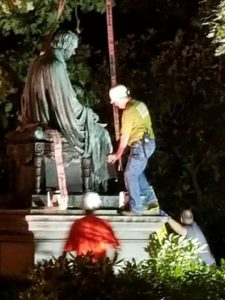 Taney Statue Removal