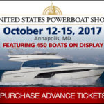 A little bad weather can't keep the 2017 US Powerboat Show down
