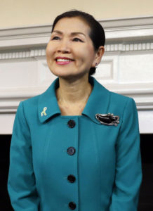 Maryland's First Lady Yumi Hogan to attend next opening of City Hall art exhibit