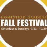 It's Heere!  Homestead Gardens Annual Fall Festival
