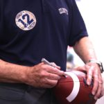 Roger Staubach personally approved each of Navy Football's game balls