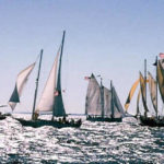 Help save the Bay aboard the Woodwind to watch the start of The Great Schooner Race