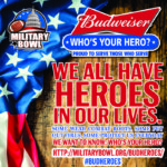 "Budweiser's ""Who's Your Hero?"" promotion returns for Military Bowl"