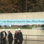 Crofton High School is officially under construction