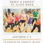 Bring A Friend To Class Week