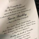 Buckley to be sworn in as Mayor on December 4th on West Street