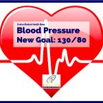 New Blood Pressure Goal: 130/80