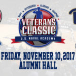 Navy Basketball Season Kicks Off With a Win in Veterans Classic