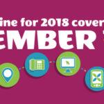 Deadline for Health Insurance December 15th