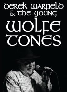 Derek Warfield & The Young Wolfe Tones are coming to Killarney House