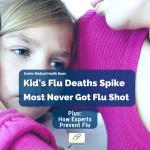Flu Deaths Spike in Children: 75% Didn't Get Flu Shot