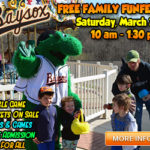Baysox 19th Annual Free Family FunFest set for March 24th