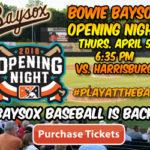 Baysox to kick off 2018 season tomorrow night