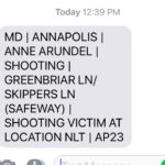 Shooting in Annapolis