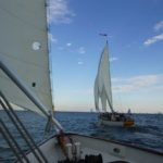 Wednesday Night Sailboat Racing Cruise aboard the 74-foot Schooners Woodwind & Woodwind II