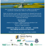 Chesapeake Bay Trust to host 20th Annual Treasure the Chesapeake on May 17th