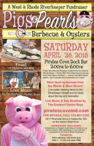 Pigs & Pearls BBQ and Oyster Roast coming up this Saturday at Pirate's Cove