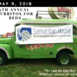 Save the date!  May 9th. Burritos for Beds Breakfast