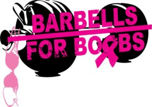 Barbells for Boobs, Breast Cancer Football Gear