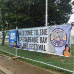 Rain? What rain? The Chesapeake Bay Blues Fest roars on! Continues tomorrow!