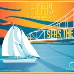 Seas the Bay with the Schooner Woodwind 25th Anniversary beer