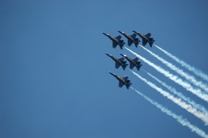 Blue Angels to fly next week at USNA