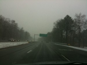 Maryland Snow On Eastern Shore