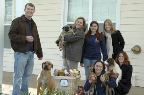 Dogwood Acres Donates more than 400 pounds of food to Light House Shelter